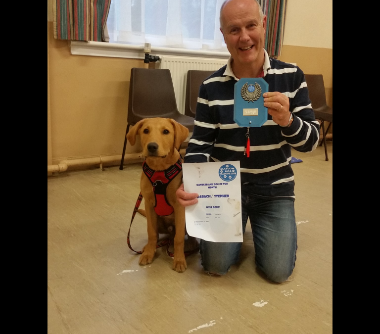 Dog & Handler of the Month – June
