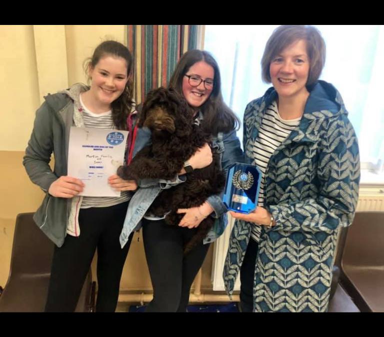 Dog & Handler of the Month – April
